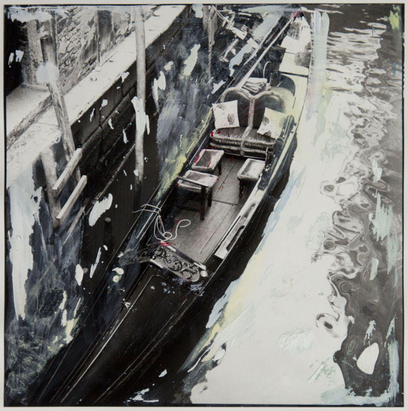 "Elis Hoymann ""Venedig, Übermalung 1"""