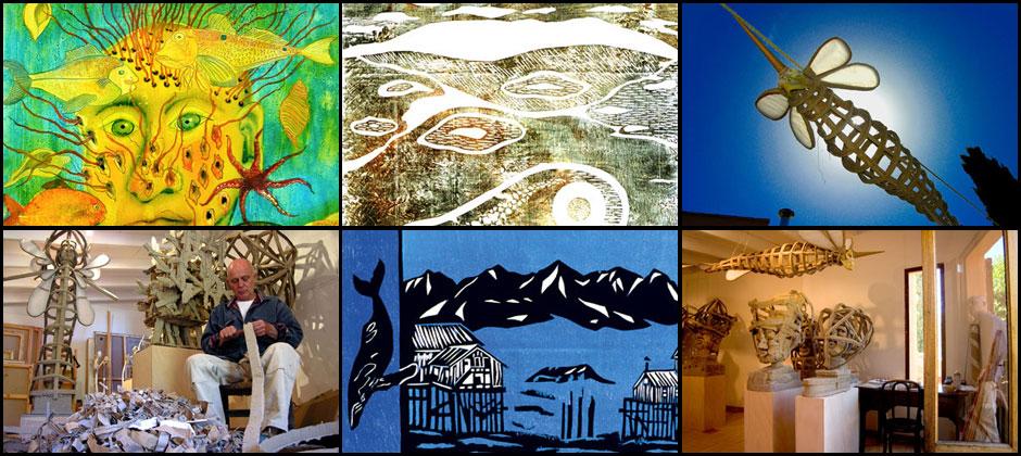 Bombolo: Malerei, Skulpturen