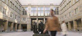 Innenhof des Basler Kunstmuseums