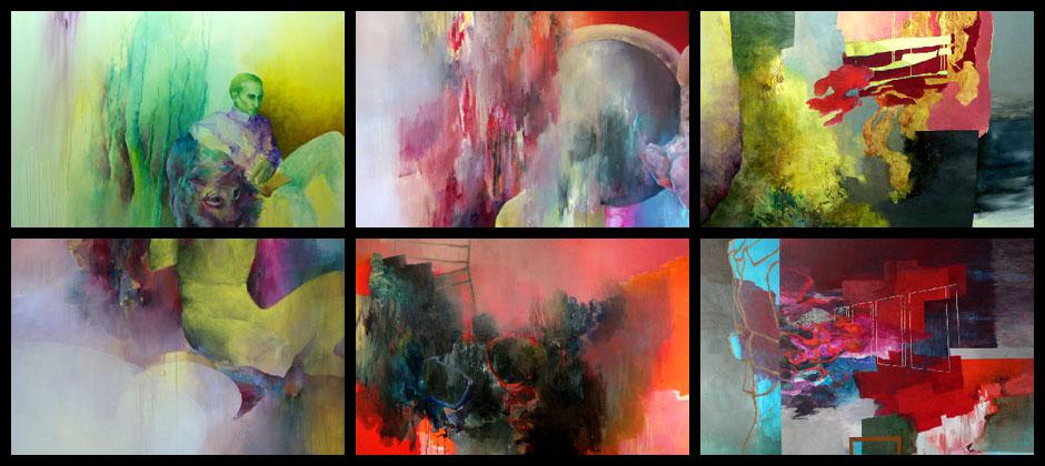 Nadine Lindenthal, Malerei