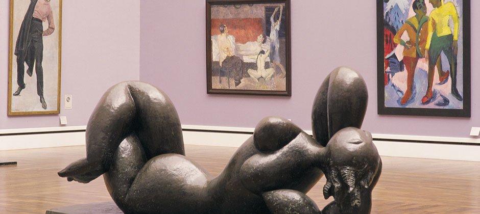 Zu Besuch in der Pinakothek der Moderne, München